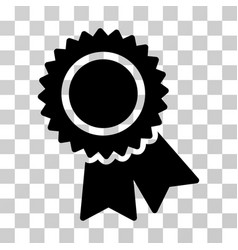 certification icon vector image vector image