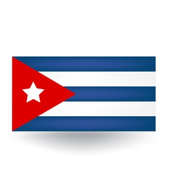 Cuban Flag vector image