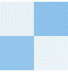 pattern dot sea vector image