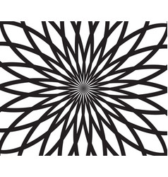 abstract background black and white pattern vector image