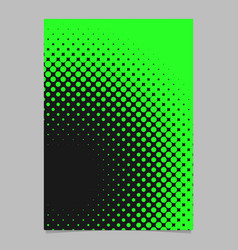 Halftone circle background pattern poster vector