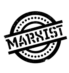 Marxist rubber stamp vector