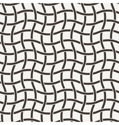 seamless texture of intertwined bands vector image