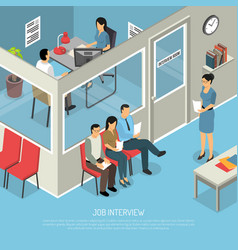 Waiting for interview composition vector