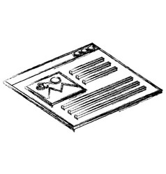 Webpage interface isolated icon vector