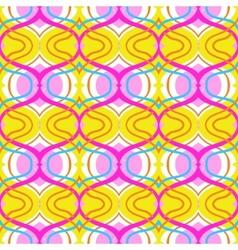 Arabic multicolor pattern vector image vector image