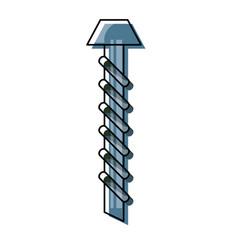 screw iilustration vector image