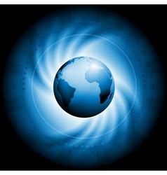 Concept technology swirl design vector