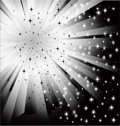 Abstract black white background vector