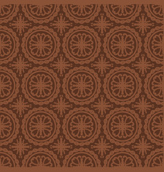 brown seamless pattern background vector image