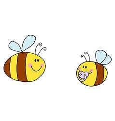 Cartoon bee vector