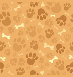 Dog theme seamless background 1 vector