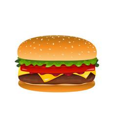Hamburger clip art vector