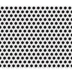 Hexagon seamless background vector