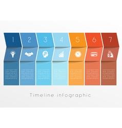 Timeline 7 vector