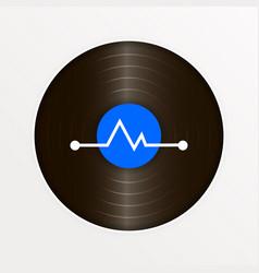 vinyl logo for your website vector image