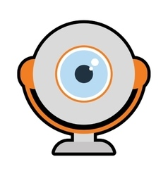 Webcam icon Gadget and technology design vector