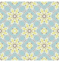 Abstract seamless vintage luxury pattern vector image