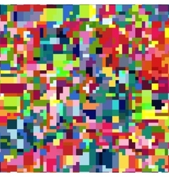 Abstract mosaic colorful background vector image