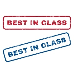 Best In Class Rubber Stamps vector