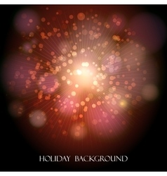 Festive Holiday Background vector image