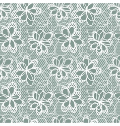 Flowers Lace Pattern vector