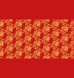 hohloma seamless pattern texture vector image