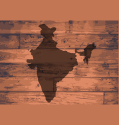 India map brand vector