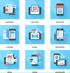 Mobile Applications vector image