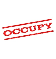 Occupy Watermark Stamp vector