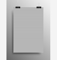 pattern paper horizontal lines grey galousie vector image