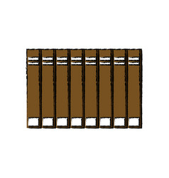 Stack book encyclopedia knowledge office supply vector