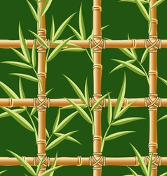bamboo seamless vector image vector image