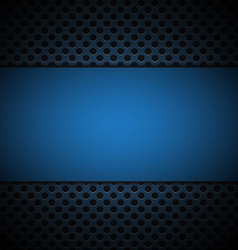blue grill texture background vector image vector image