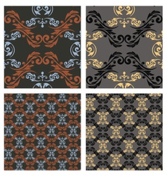 seamless pattern eps10 vector image vector image