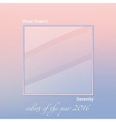 color of the year 2016 vector image