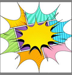 comic page original concept vector image