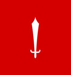 Flag of kathmandu nepal vector