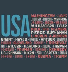 flag usa poster united states america flag vector image