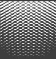 halftone line pattern vector image