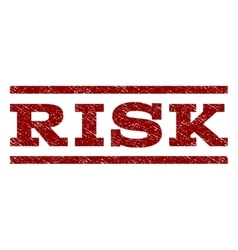 Risk Watermark Stamp vector