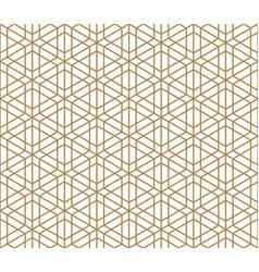 Seamless traditional kumiko pattern vector