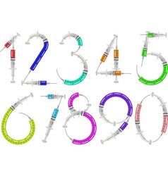 Syringe numbers vector
