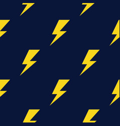 thunder pattern thunder icon vector image