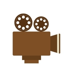 Videocamera icon Movie design graphic vector image