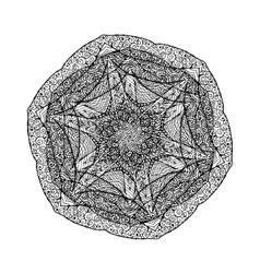 Art Lacy Mandala Ethnic decorative element Hand vector image vector image