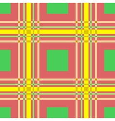 seamless pattern of squares and lines vector image vector image