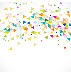 abstract creative mix geometrical vector image