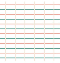Green and soft peach line composition pattern vector