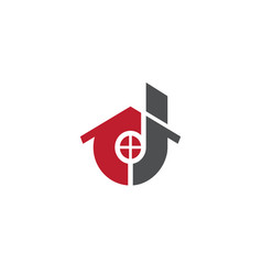 house logo business vector image